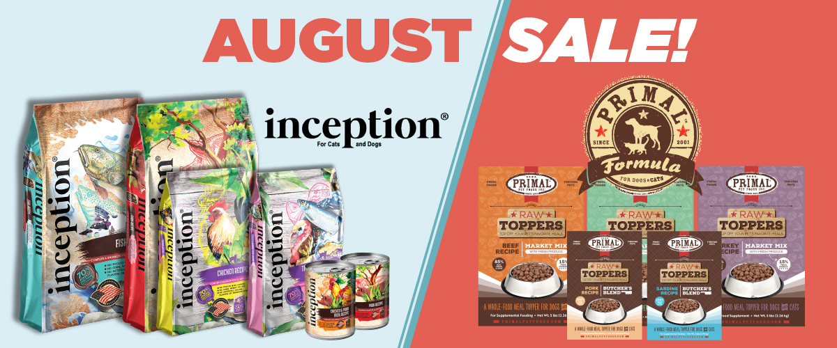 August Sale – Inception & Primal