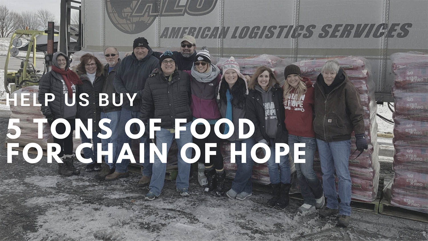 Chain of Hope Needs Our Help.