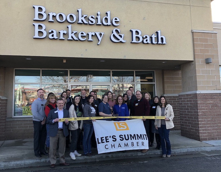 Ribbon-Cutting at the Newly Expanded Lee's Summit Store!
