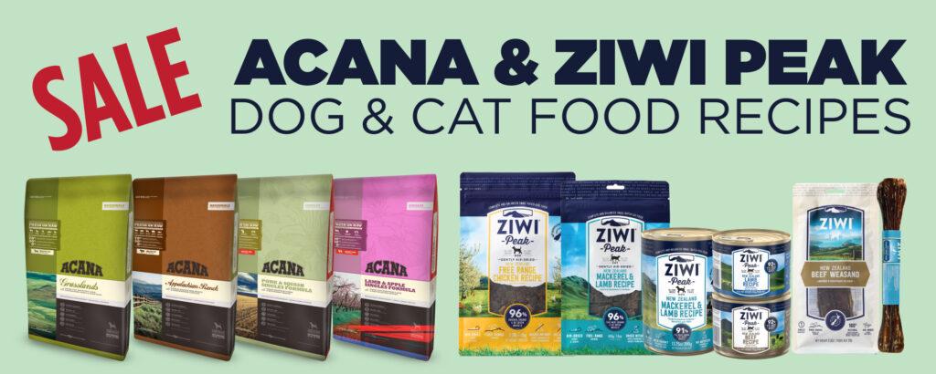 Acana Ziwi Peak Sale