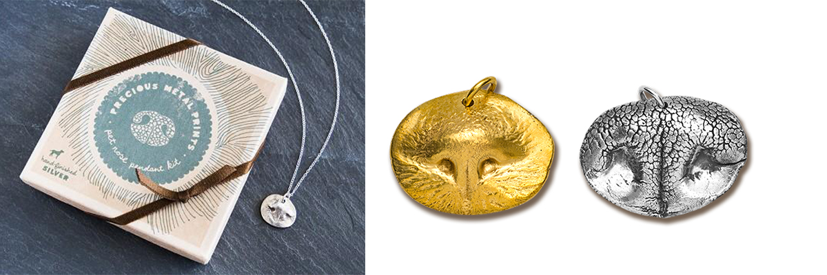 Create a Custom Pet Nose Imprint Charm for World Pet Memorial Day