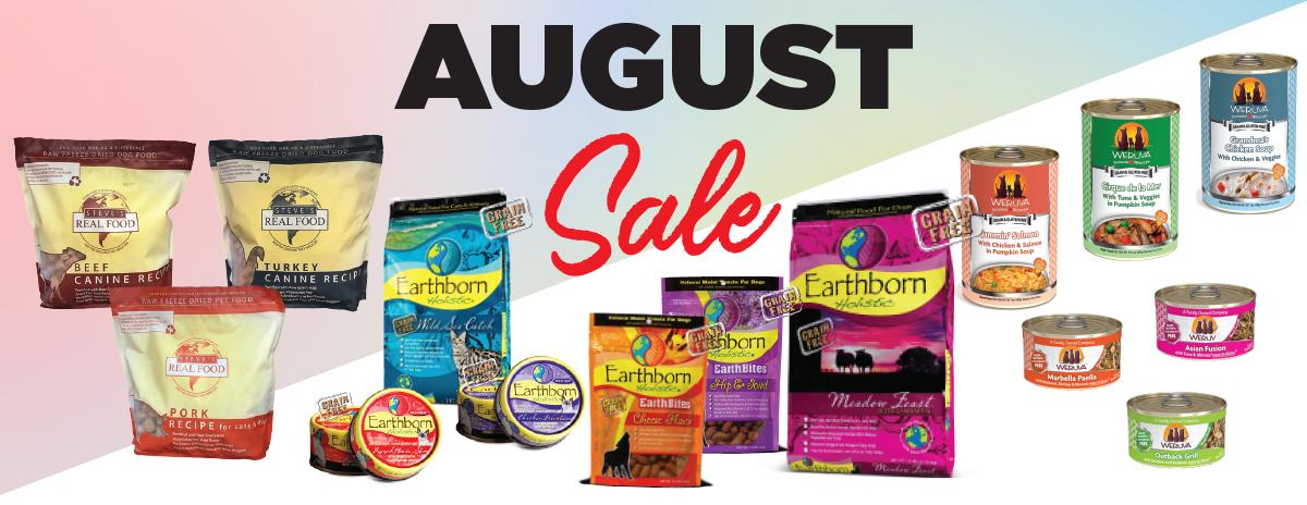 August Sale – Weruva, Steve's & Earthborn