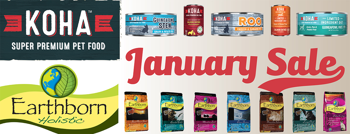 January Sale: Koha & Earthborn