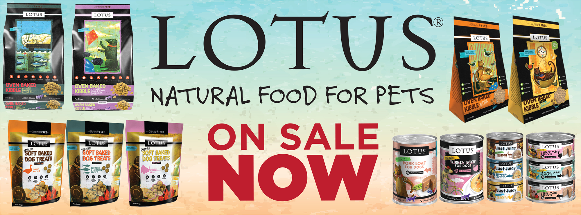 April Sale – Lotus Pet Foods
