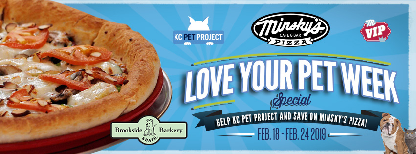 Support KC Pet Project and Save During Love Your Pet Week!