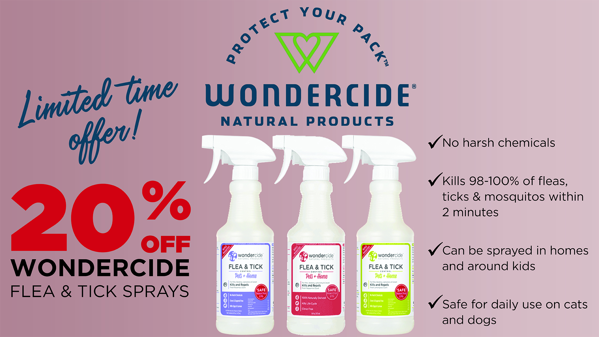 A Natural Solution for Fleas, Ticks & Mosquitoes